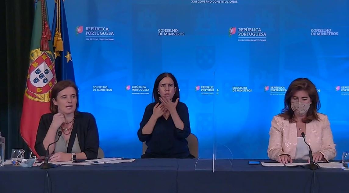 Persconferentie Raad van Ministers Portugal 1 juli 2021
